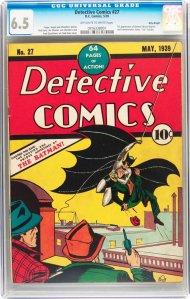 Detective Comic Book